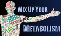 Running music mix entitled Mix Up Your Metabolism from Rock My Run