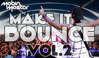 Running music mix entitled Mobin Master Make It Bounce Vol. 2 from Rock My Run
