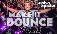 Running music mix entitled Mobin Master Make It Bounce Vol. 3 from Rock My Run