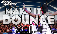 Running music mix entitled Mobin Master Make It Bounce Vol. 4 from Rock My Run