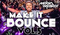 Running music mix entitled Mobin Master Make It Bounce Vol. 5 from Rock My Run
