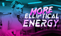 Running music mix entitled More Elliptical Energy from Rock My Run