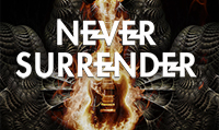Running music mix entitled Never Surrender from Rock My Run
