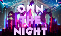 Running music mix entitled Own the Night from Rock My Run