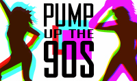Running music mix entitled Pump Up The 90s from Rock My Run