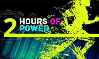 Running music mix entitled 2 Hours of Power from Rock My Run