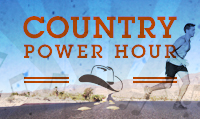 Running music mix entitled Country Power Hour from Rock My Run