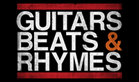 Running music mix entitled Guitars, Beats & Rhymes from Rock My Run