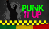 Running music mix entitled Punk It Up from Rock My Run