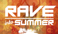 Running music mix entitled Rave into Summer from Rock My Run