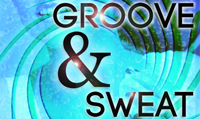 Running music mix entitled Groove & Sweat from Rock My Run