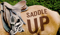 Running music mix entitled Saddle Up from Rock My Run