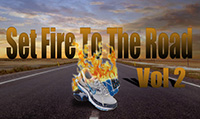 Running music mix entitled Set Fire to the Road Vol. 2 from Rock My Run