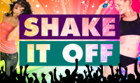Running music mix entitled Shake It Off from Rock My Run