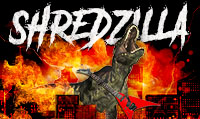Running music mix entitled Shredzilla from Rock My Run