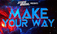 Running music mix entitled StoneBridge Presents Make Your Way from Rock My Run