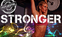 Running music mix entitled Stronger from Rock My Run