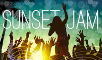 Running music mix entitled Sunset Jam  from Rock My Run