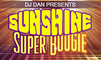 Running music mix entitled Sunshine Super Boogie from Rock My Run