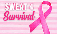 Running music mix entitled Sweat4Survival from Rock My Run