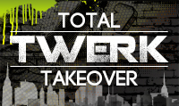 Running music mix entitled Total Twerk Takeover from Rock My Run