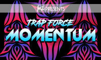 Running music mix entitled Trap Force Momentum from Rock My Run