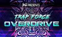 Running music mix entitled Trap Force Overdrive from Rock My Run