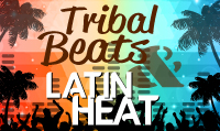 Running music mix entitled Tribal Beats & Latin Heat from Rock My Run