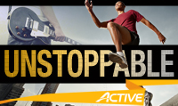 Running music mix entitled Unstoppable from Rock My Run