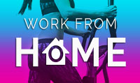 Running music mix entitled Work From Home from Rock My Run