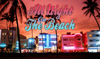 Running music mix entitled All Night on the Beach from Rock My Run