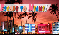 Running music mix entitled Escape to Miami! from Rock My Run