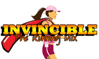 Running music mix entitled Invincible from Rock My Run
