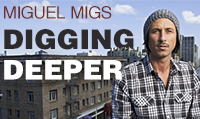 Running music mix entitled Miguel Migs Digging Deeper from Rock My Run