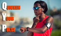 Running music mix entitled Quicken Your Pulse from Rock My Run