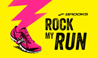 Running music mix entitled Brooks Fan Mix from Rock My Run