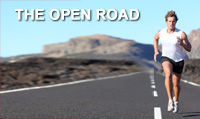 Running music mix entitled The Open Road from Rock My Run