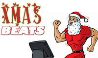 Running music mix entitled Xmas Beats from Rock My Run